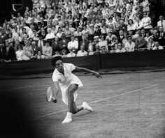 Tennis Legend Althea Gibson (1927-2003): First black person allowed to play professional tennis in 1950. Won 11 Grand Slam events, & inducted into International Tennis Hall of Fame and International Women's Sports Hall of Fame.