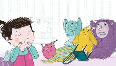 Tiny Tantrum - Ella Okstad #tiny #tantrums #toddlers #children #kids #behaviour #parents #help #teachers #teaching #learning #booksforkids #kidsbooks #childrensbook #illustration #illustrator #kidlitart #cute #monsters #pastels #read #sharestories #kidsarepeople #ellaokstad