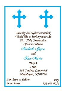 93bcd4816c46fd99a7fc31ee33581438 communion invitations party invitations twin boys first communion invitation found the perfect invite for,First Communion Invitations For Boy Girl Twins