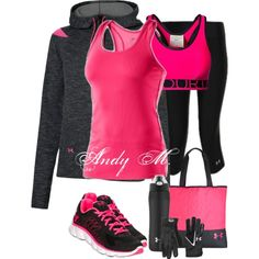 Under Armour Pink**Great workout gear** -- I have the water bottle. I will never buy another one ever again. Its might be $30 but its the best $30 ever spent! It keeps water cold for hours and hours!