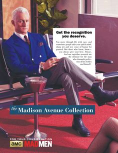 "Vintage-Inspired ""Mad Men"" Ads"