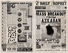 Daily Prophets : Mass Breakout From Azkaban by WiwinJer on DeviantArt