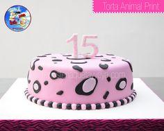 Torta Animal Print Leopardo - Leopard animal print cake