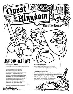 Ephesians 31 6 solving the mystery childrens activity sheet fear the lord proverbs 11 7 activity sheet fandeluxe Gallery