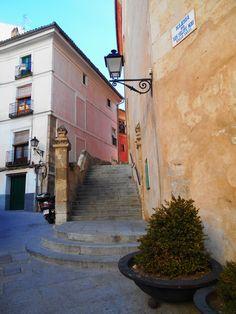 Escaleras junto a Iglesia de San Felipe Neri