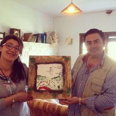 La Patería de Sousa cuenta con la primera licencia de producción de Foie Gras ecológico del mundo. Entre su clientela está la Casa Blanca... y les encantó su cuadro!!!