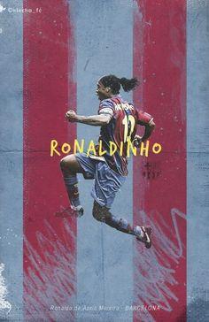 Ronaldinho of Barcelona wallpaper.