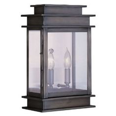 classic and clean outdoor wall lantern