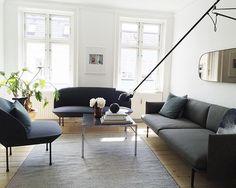 Muuto Bank, type Outline Sofa. Vanaf eind september in de Muuto showroom in Breda. http://houtmerk.nl/muuto-design
