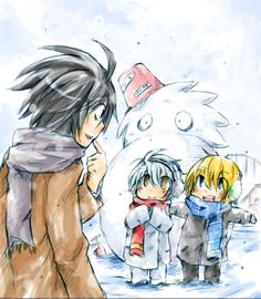 They made an L XD Near and Mello are so cute in this picture...