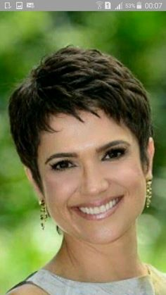 Today we have the most stylish 86 Cute Short Pixie Haircuts. We claim that you have never seen such elegant and eye-catching short hairstyles before. Pixie haircut, of course, offers a lot of options for the hair of the ladies'… Continue Reading → Short Grey Hair, Very Short Hair, Short Hair With Layers, Short Hair Cuts For Women, Short Hairstyles For Women, Cool Hairstyles, Wedge Hairstyles, Hairstyle Men, Wave Hairstyle