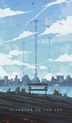 Elevator to the Sky by Andrea Koroveshi‎ - Spitpaint 30 minutes