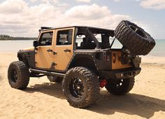 Seriously rugged Jeep