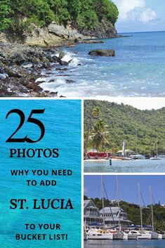 A compilation of 25 photos that is bound to put St. Lucia on your travel destination bucket list! This Caribbean island was the perfect place to unwind relax and explore. Caribbean Vacations, Beach Vacations, Beach Trip, Beach Travel, That Way, Travel Photos, Perfect Place, Travel Inspiration, Parks