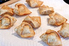 Just Another Day in Paradise: Crab Wontons