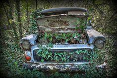 Abandoned car urbex rusty