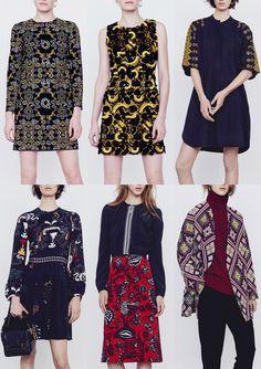 Paris Fashion Week Womenswear Print Highlights Part 1 - Autumn/Winter 2015/16 | Patternbank