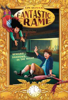 Beware! Shadows in the Night by Lin Oliver; Illustrated by Samantha Kallis
