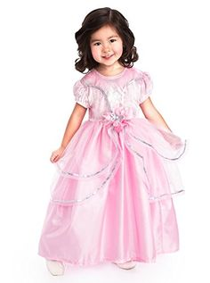 Little Adventures Traditional Royal Pink Princess Girls Costume - X-Large (7-9 Yrs) * Find out more about the great product at the image link.