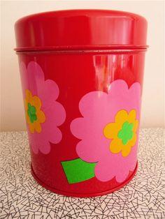 60's storage tin from Jane Foster Blog