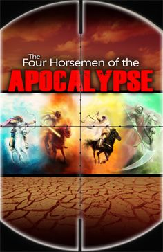 The Four Horsemen of the Apocalypse - In this prophecy booklet we uncover the meaning and prophetic significance of these four ominous figures mentioned in Revelation six. We reveal the different signs that will befall the earth in the last days, including the prophesied worldwide deception, war, famine, disease and death.