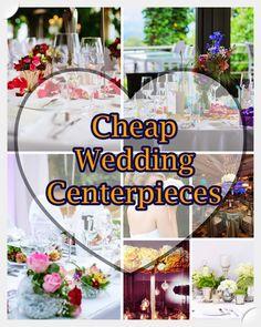 centerpieces inexpensive cheap for centerpiece decor table wedding decorations ideas