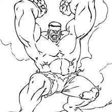 hulk flying into the rage coloring page super heroes coloring pages the incredible - Coloring Pages Incredible Hulk