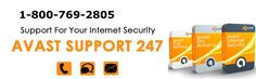 Avast Support 1800-769-2805 Avast Tech Support Number Avast Antivirus Toll Free Contact Number . Get superlative Solutions for Avast internet security  by Avast customer care toll free Number and it is 1-800-769-2805. For more information visit our website http://www.supportavast.net/