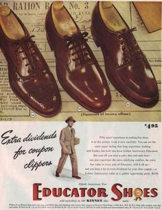Educator Shoes 1944