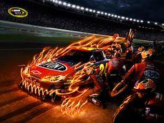 Jeff Gordon's #24 monster car