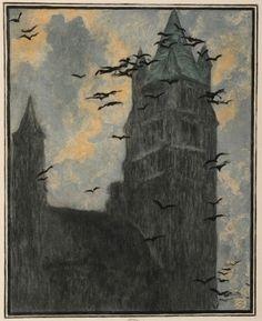 Georges Rodenbach & Lucien Levy Dhurmer~Bruges La Morte