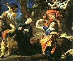 Martyrdom of Four Saints by Antonio da Correggio