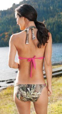 Cute camo bikini