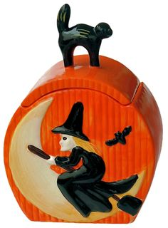 Witch Cookie Jar by Cracker Barrel