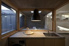 chaoffice\'s strategy was to maintain the original structure on its original boundaries, in order to keep the relationship between house and environment.