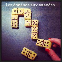 Les dominos aux amandes http://lareinedeliode.com/nos-dominos-aux-amandes/