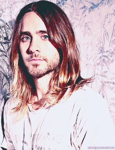 Jared Leto for Out Magazine  (original photo by Caitlin Cronenberg)