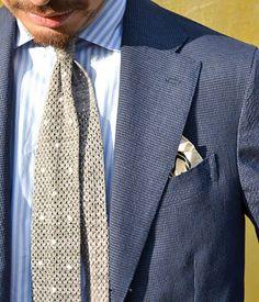 春気分でブルーのスーツを   STYLING   UNITED ARROWS