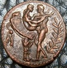 Картинки по запросу Roman coins used as tokens for entrance in Roman brothels
