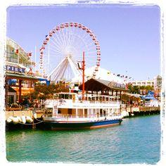 Navy Pier- Chicago, IL. lugar hermoso espero volver