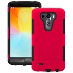 TRIDENT AEGIS CASE FOR LG G3 - RED #lgg3case, #g3case www.myphonecase.com