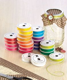 With this 24-Pk. Assorted Baker's Twine, you can add a splash of color to all your craft projects. It's ideal for greeting cards, home decor, party favors, gift wrap and mo