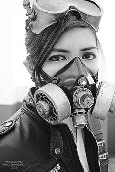 Steampunk Mono 2 by Iantiempo on Flickr.Via Flickr: Model: Kim De Jesus