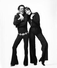 Sammy Davis Jr. and Liza Minnelli. Photo by Milton Greene.