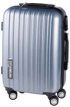 Cabin Size Trolley (Grijs) €44,95  Deze koffer is sterk en licht.