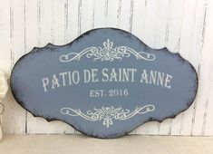 Custom French Sign Hand Painted Custom Kitchen By SignsByDiane   Belle  Maison   Pinterest