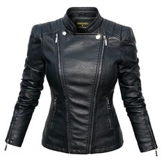 Choosing The Right Men's Leather Jackets. A leather coat is a must for every single guy's closet and is also an excellent method to express his personal design. Leather coats never ever head New Look Women, Best Leather Jackets, Cute Coats, Leather Fashion, Men's Leather, Jacket Style, Cool Outfits, Jackets For Women, My Style