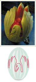 Watermelon Swan - how to