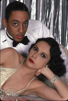 Lonette McKee + Gregory Hines (publicity still from the movie Cotton Club)