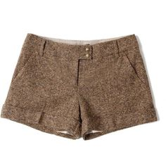 Tweed shorts f a s h i o n s t y l e ❤ liked on Polyvore featuring shorts and tommy hilfiger
